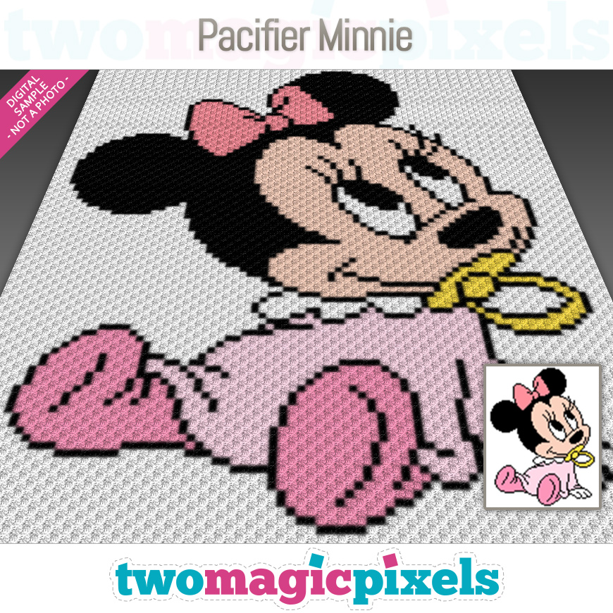 Pacifier Minnie by Two Magic Pixels