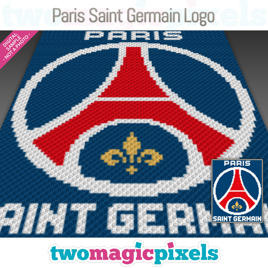 Paris Saint Germain Logo by Two Magic Pixels