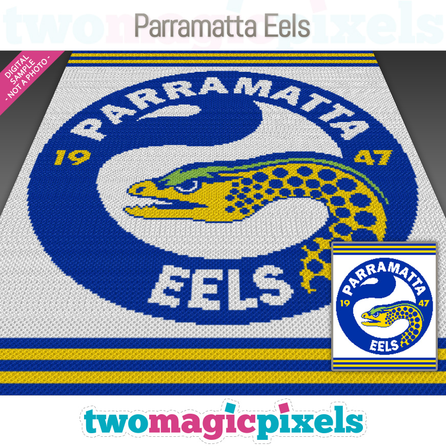 Parramatta Eels by Two Magic Pixels
