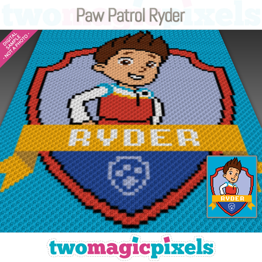 Paw Patrol Ryder by Two Magic Pixels