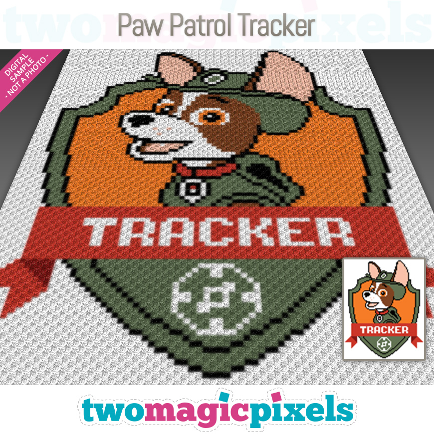 Paw Patrol Tracker by Two Magic Pixels