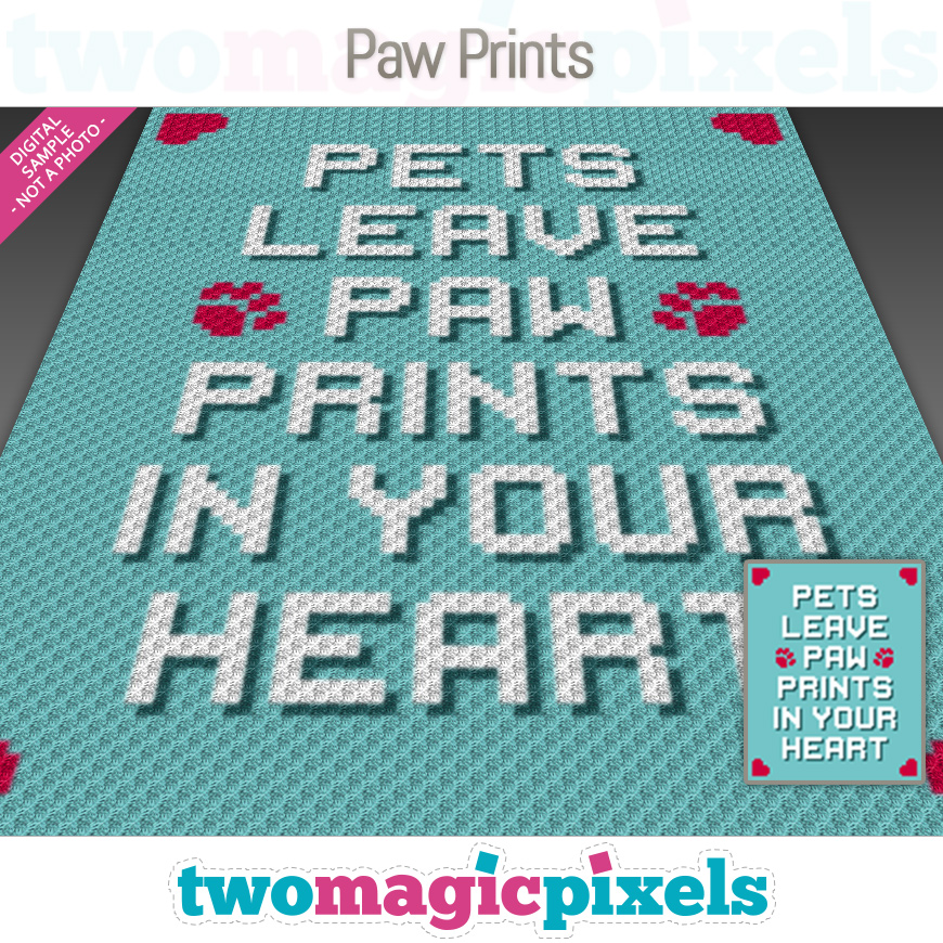 Paw Prints by Two Magic Pixels