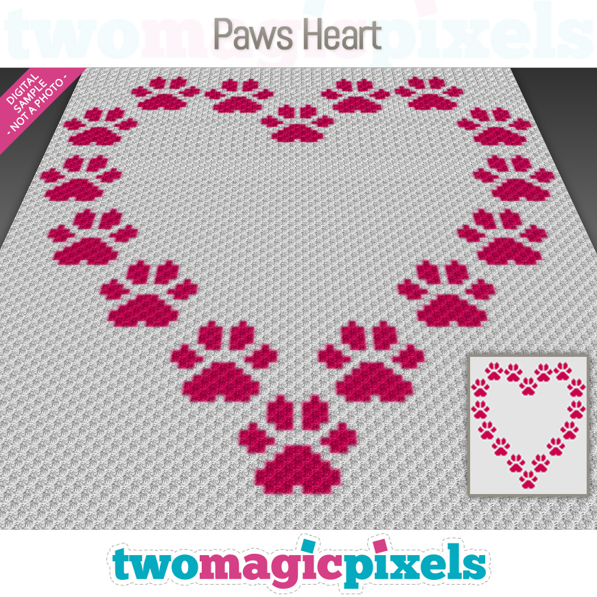 Paws Heart by Two Magic Pixels