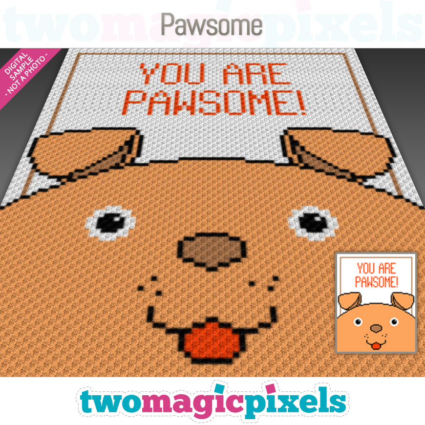 Pawsome by Two Magic Pixels