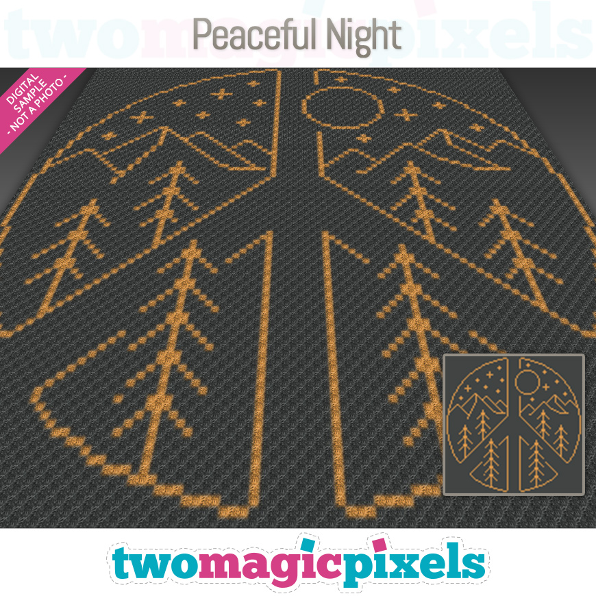Peaceful Night by Two Magic Pixels