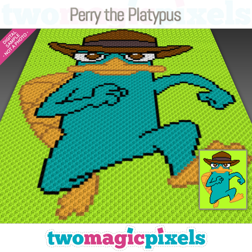 Perry the Platypus by Two Magic Pixels