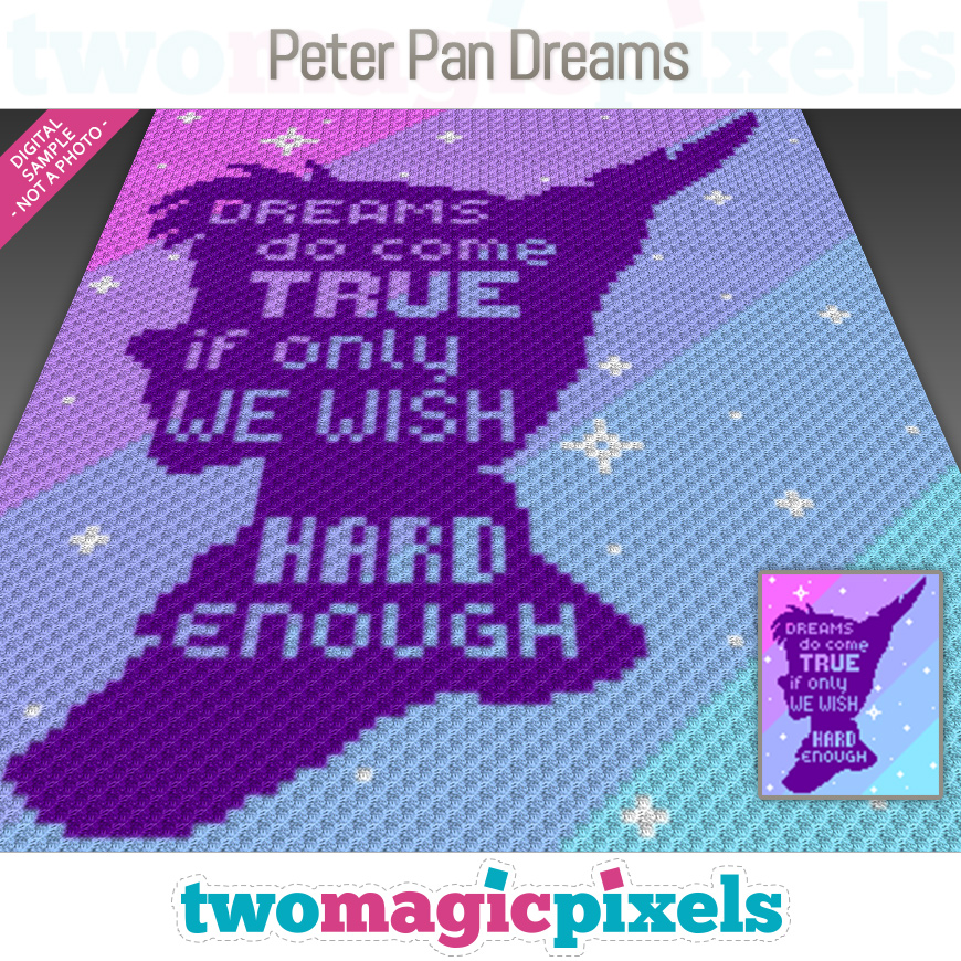 Peter Pan Dreams by Two Magic Pixels
