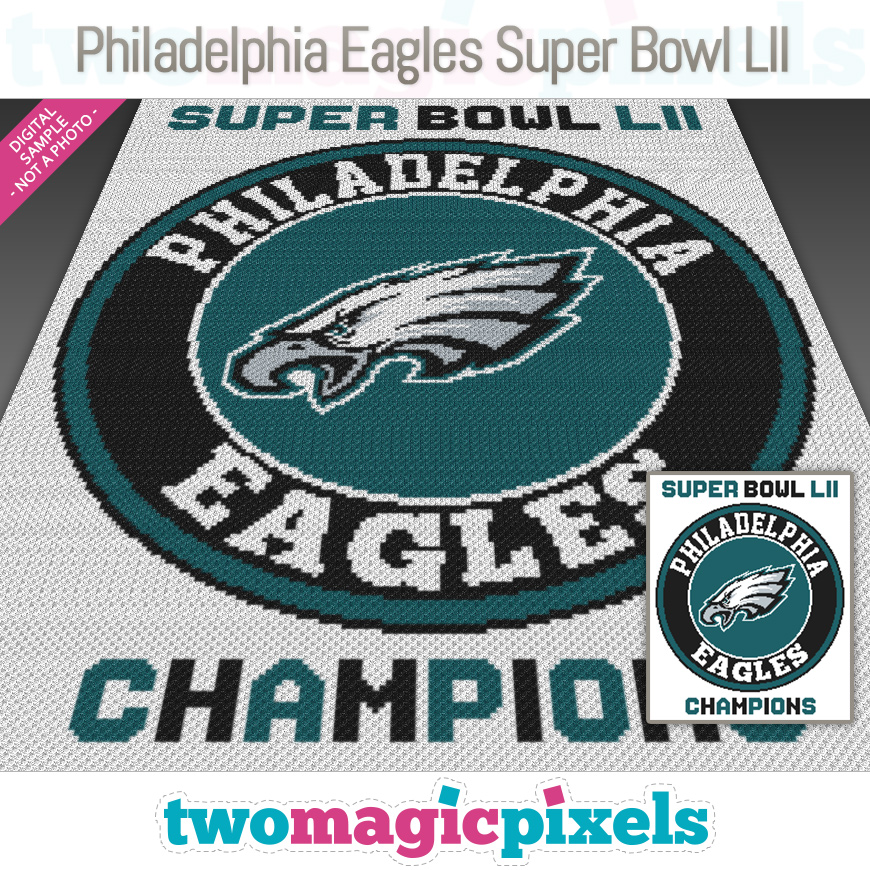 Philadelphia Eagles Super Bowl LII by Two Magic Pixels