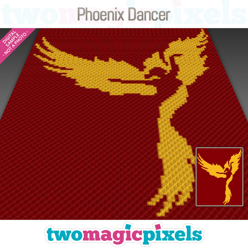 Phoenix Dancer by Two Magic Pixels