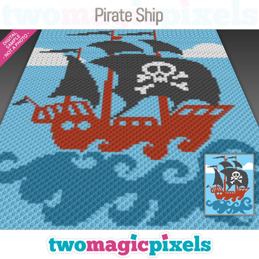 Pirate Ship by Two Magic Pixels