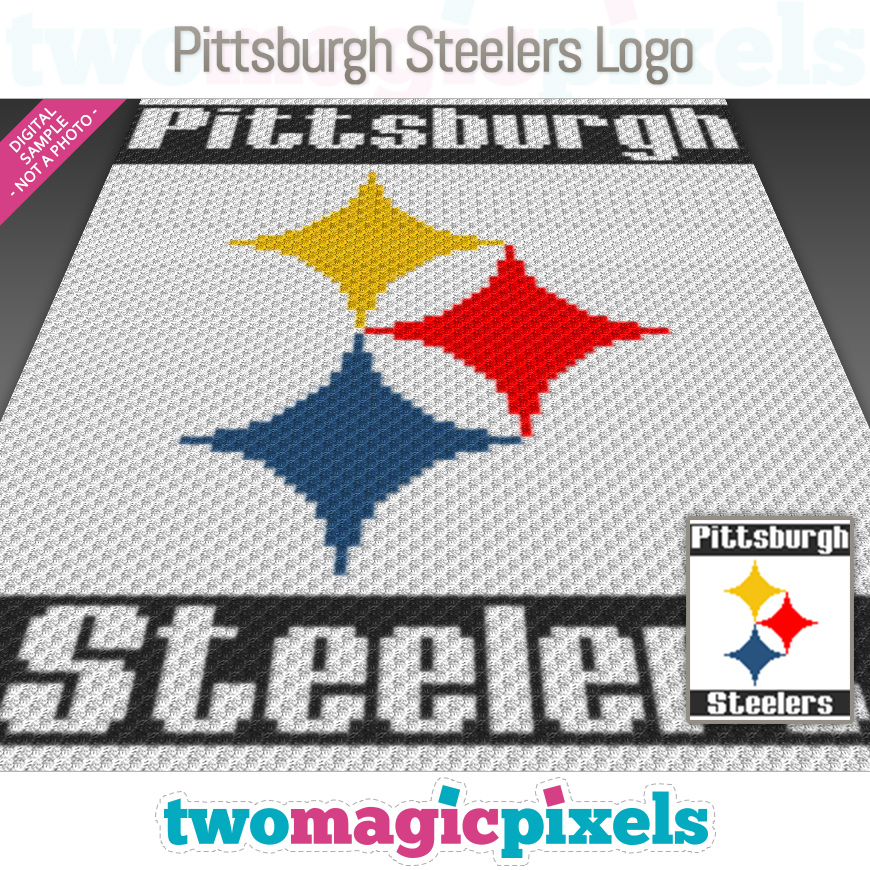 Pittsburgh Steelers Logo by Two Magic Pixels