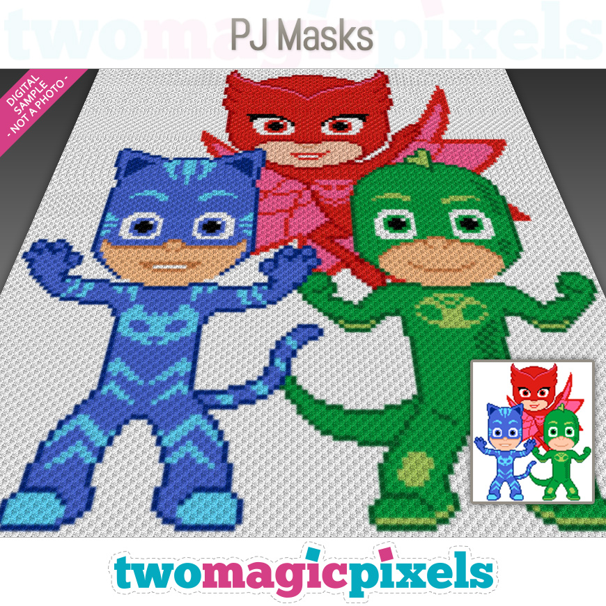 PJ Masks by Two Magic Pixels