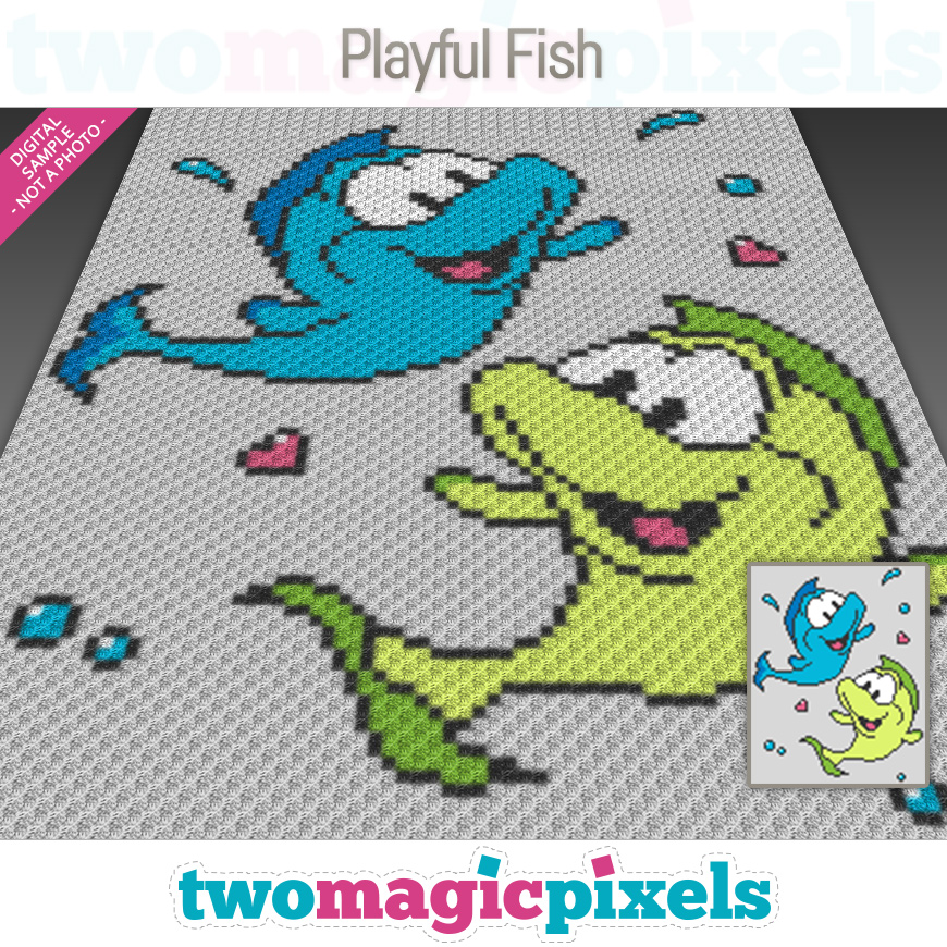 Playful Fish by Two Magic Pixels