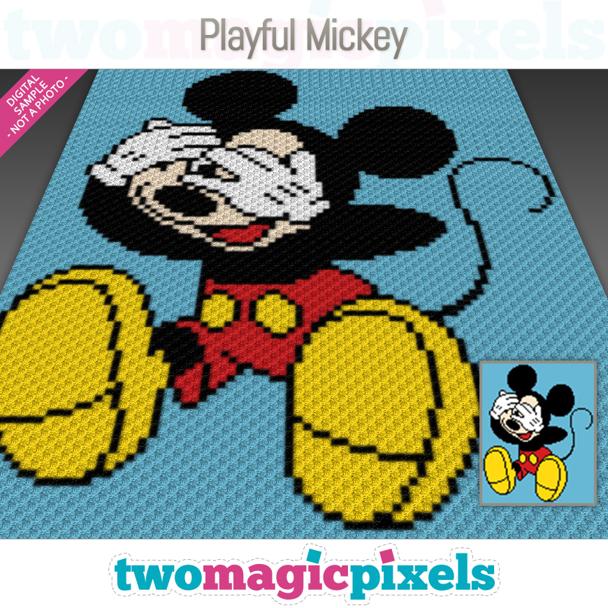 Playful Mickey by Two Magic Pixels