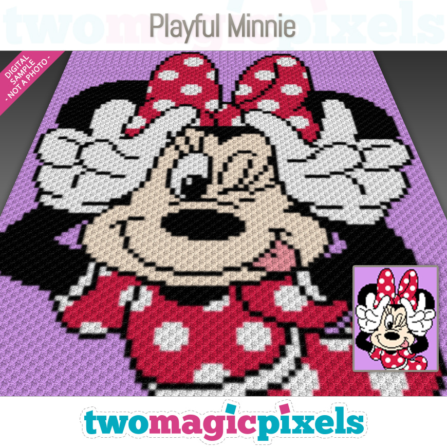 Playful Minnie by Two Magic Pixels