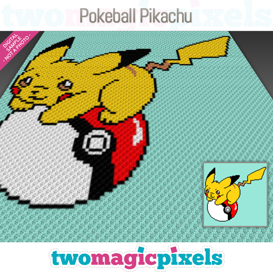 Pokeball Pikachu by Two Magic Pixels