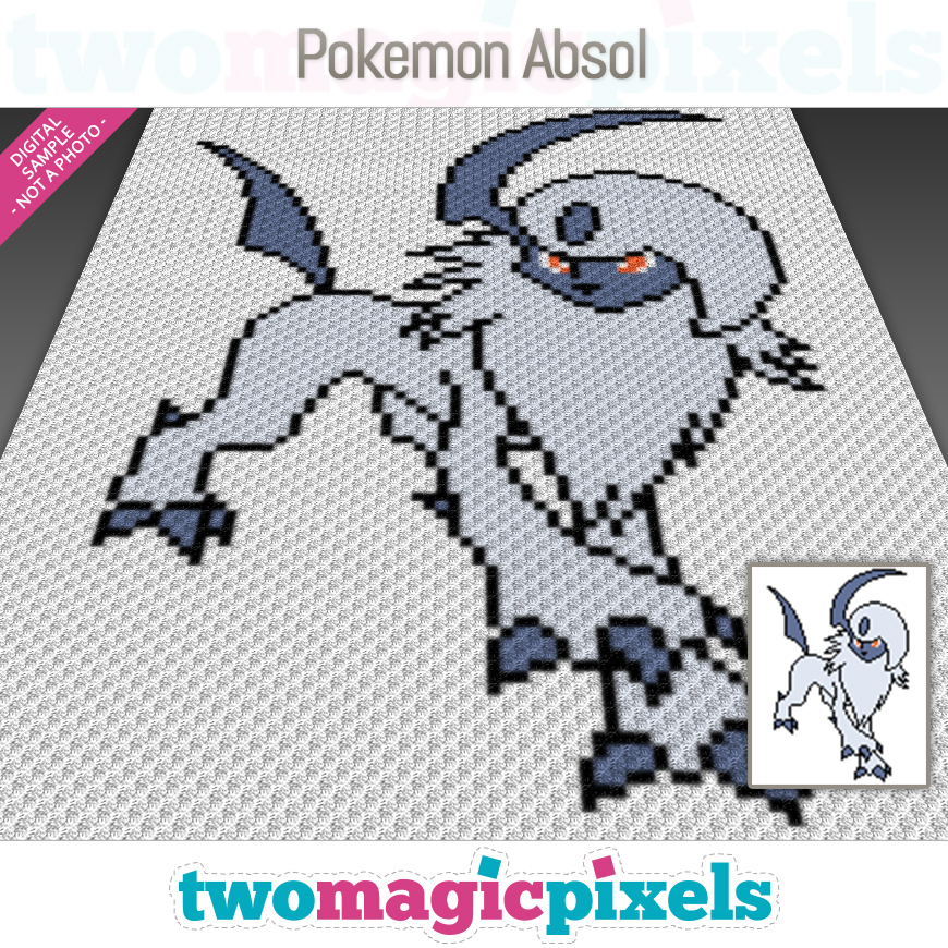 Pokemon Absol by Two Magic Pixels