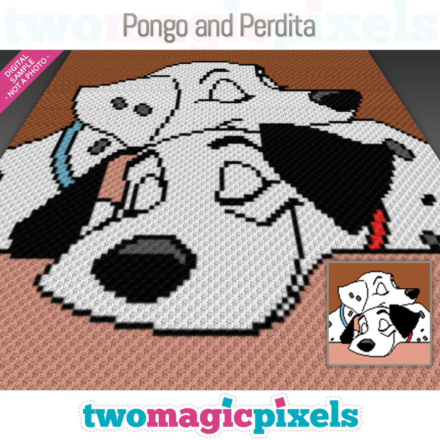 Pongo and Perdita by Two Magic Pixels