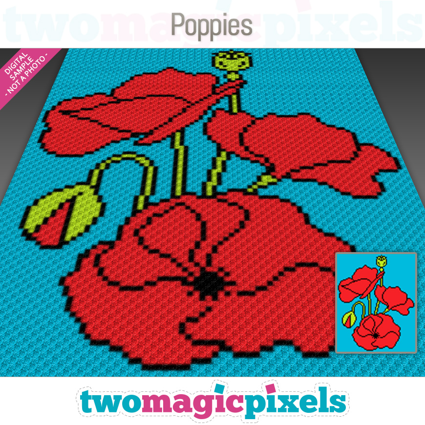 Poppies by Two Magic Pixels