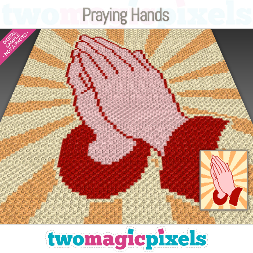 Praying Hands by Two Magic Pixels