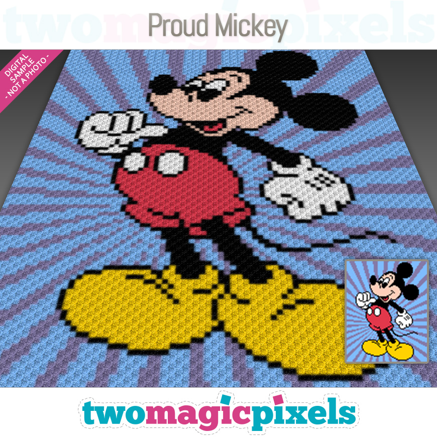 Proud Mickey by Two Magic Pixels