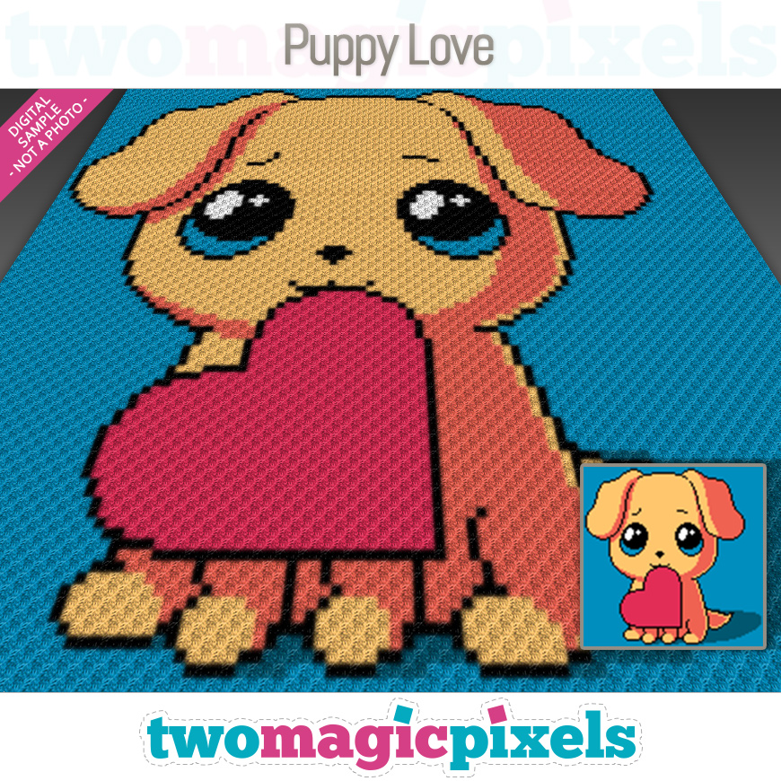 Puppy Love by Two Magic Pixels