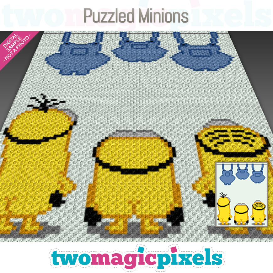 Puzzled Minions by Two Magic Pixels