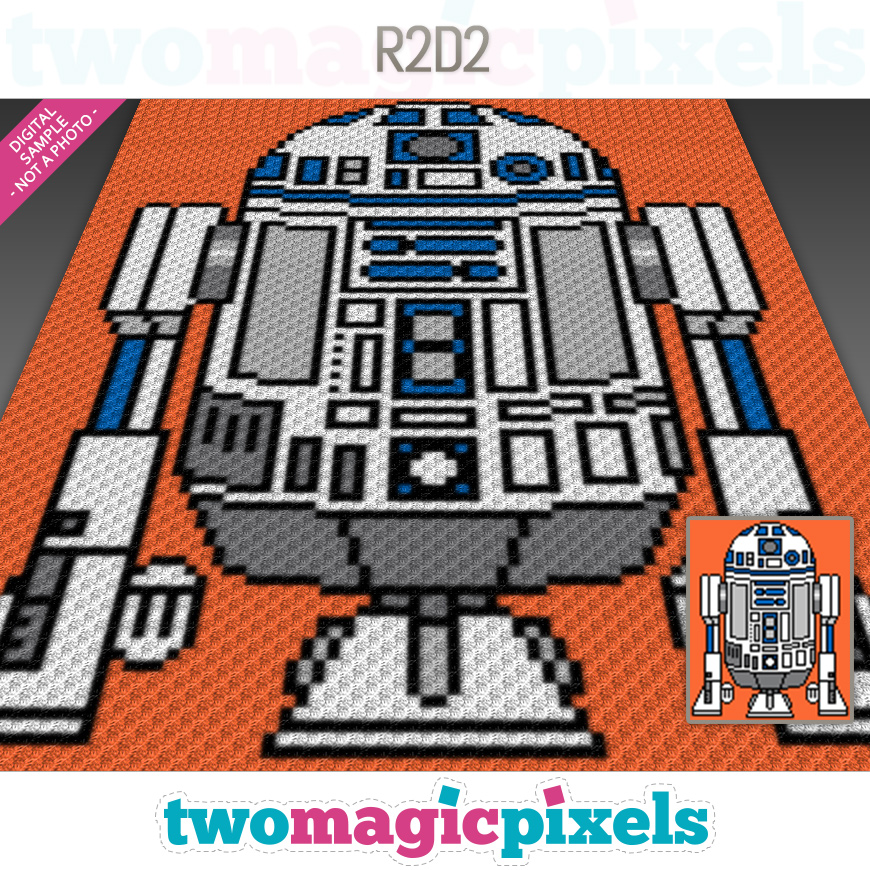 R2D2 by Two Magic Pixels
