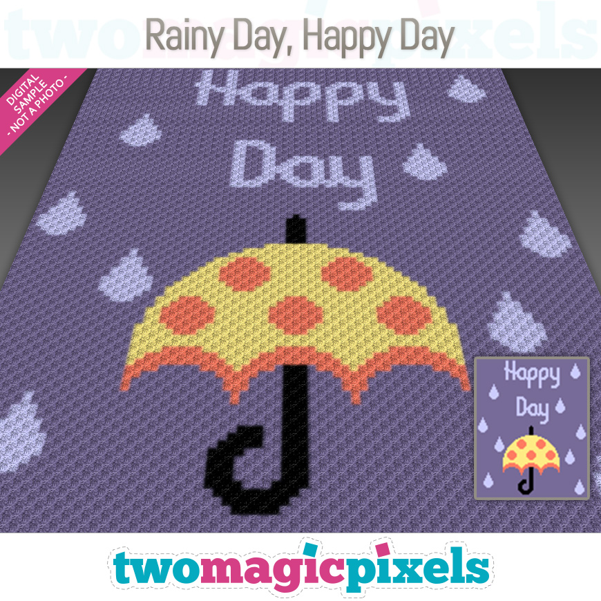 Rainy Day, Happy Day by Two Magic Pixels