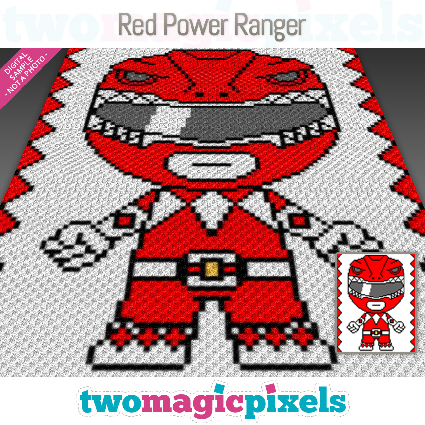 Red Power Ranger by Two Magic Pixels