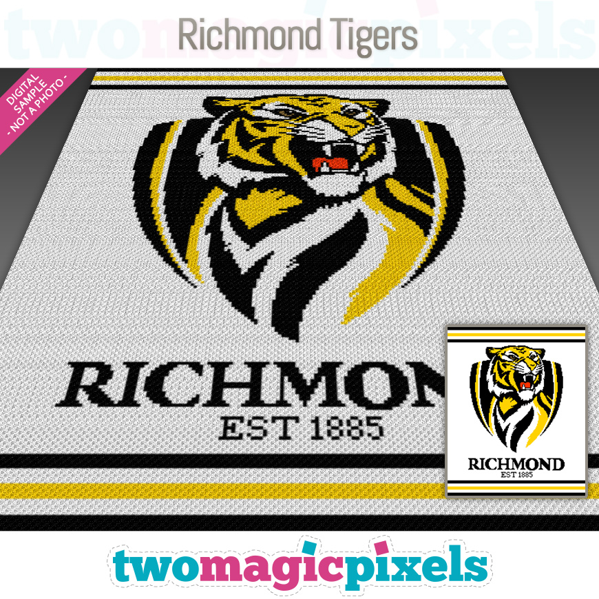 Richmond Tigers by Two Magic Pixels