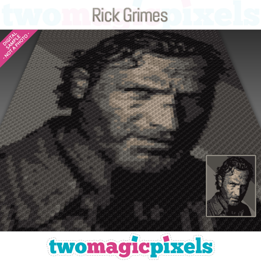 Rick Grimes by Two Magic Pixels