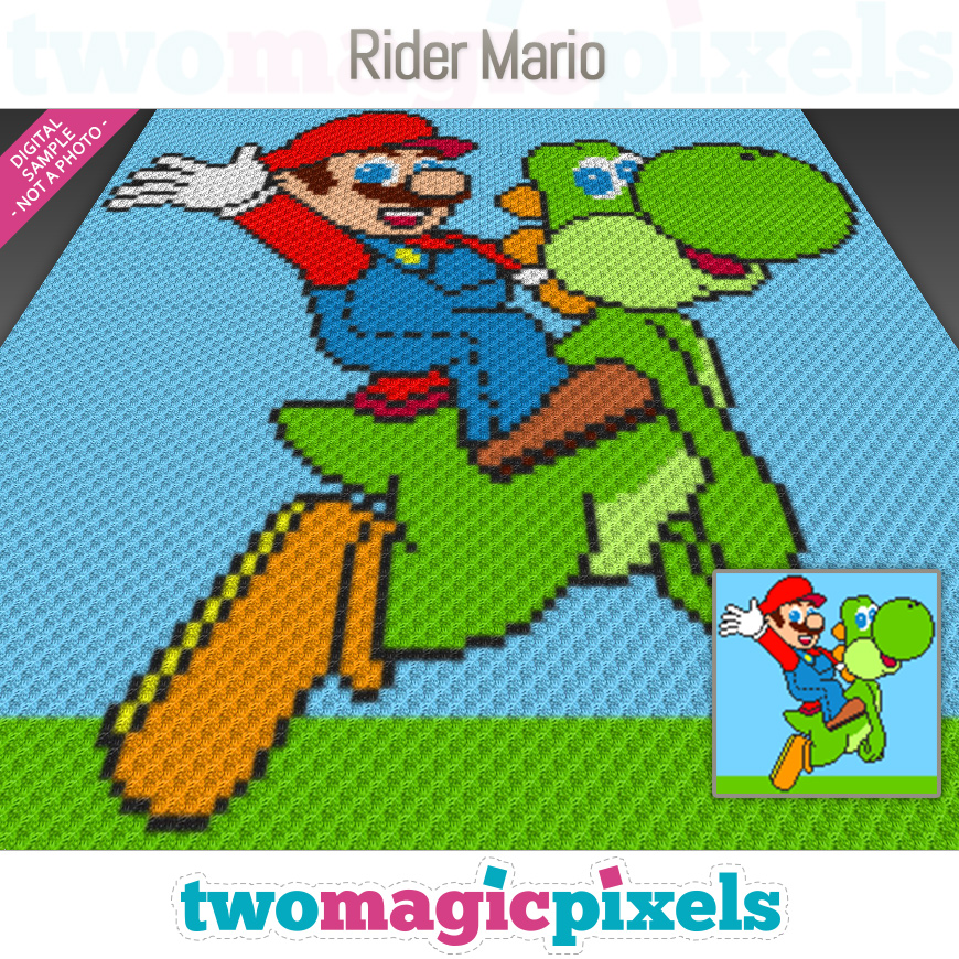 Rider Mario by Two Magic Pixels