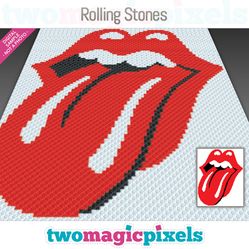 Rolling Stones by Two Magic Pixels