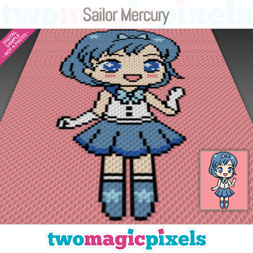 Sailor Mercury by Two Magic Pixels