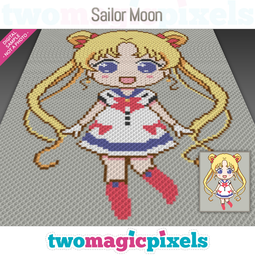 Sailor Moon by Two Magic Pixels