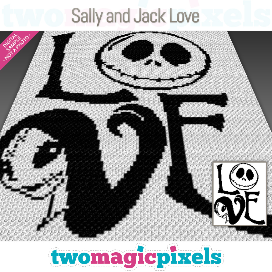 Sally and Jack Love by Two Magic Pixels