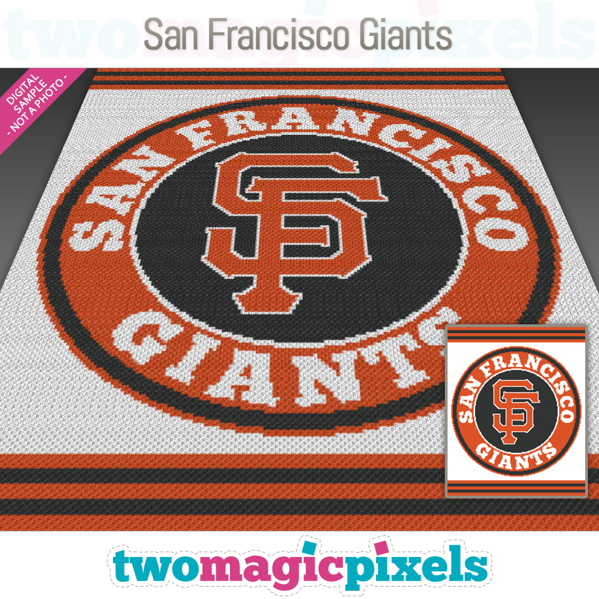 San Francisco Giants by Two Magic Pixels