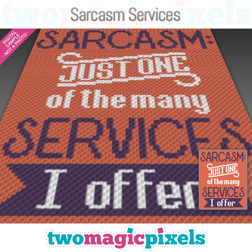 Sarcasm Services by Two Magic Pixels