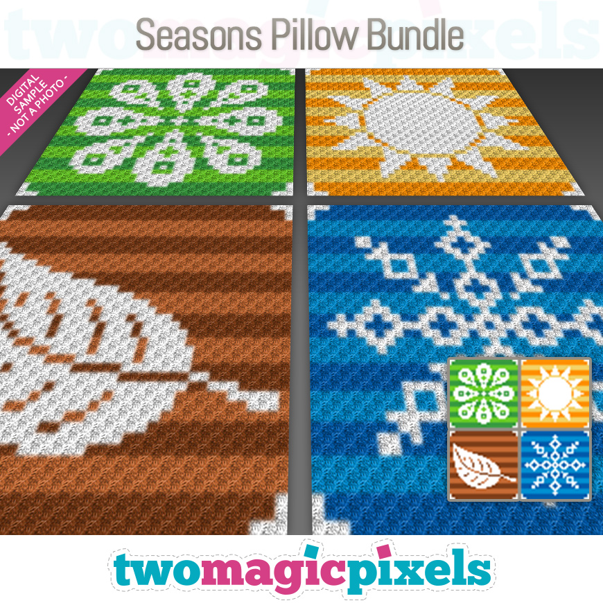 Seasons Pillow Bundle by Two Magic Pixels