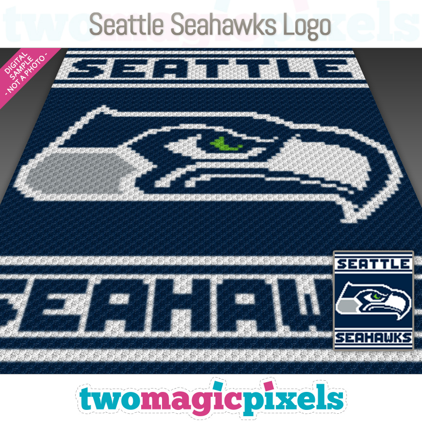 Seattle Seahawks Logo by Two Magic Pixels