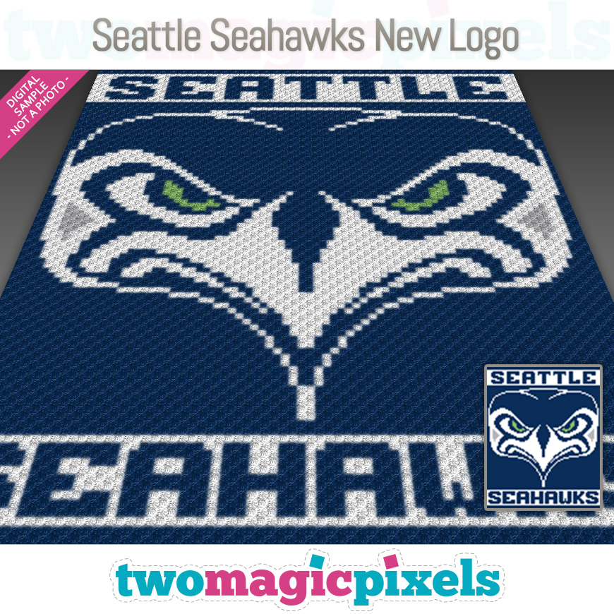 Seattle Seahawks New Logo by Two Magic Pixels