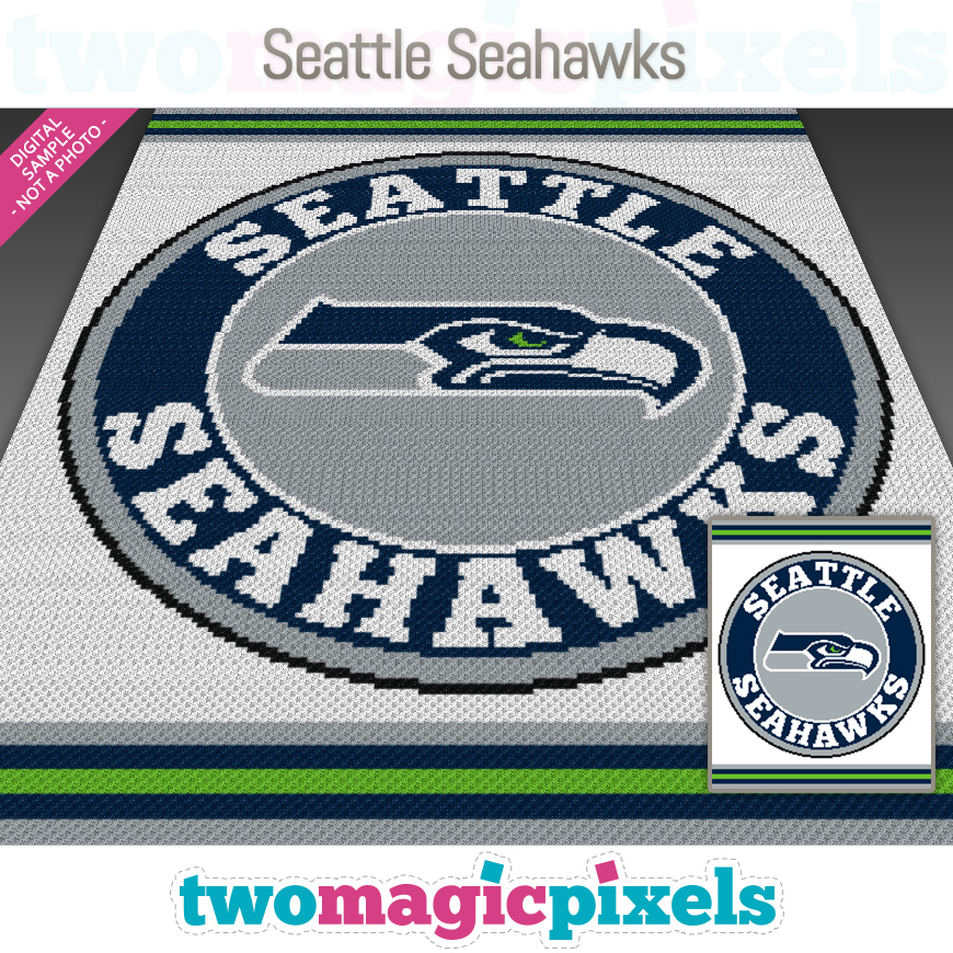Seattle Seahawks by Two Magic Pixels