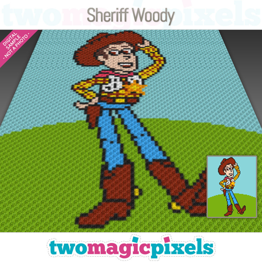Sheriff Woody by Two Magic Pixels