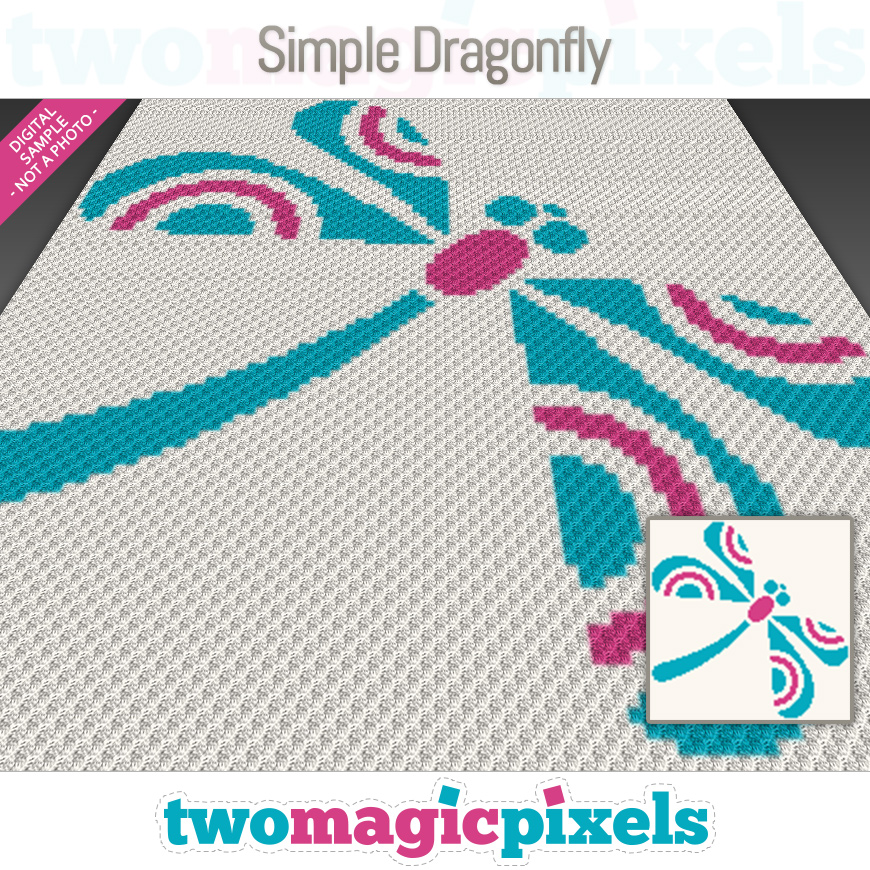 Simple Dragonfly by Two Magic Pixels