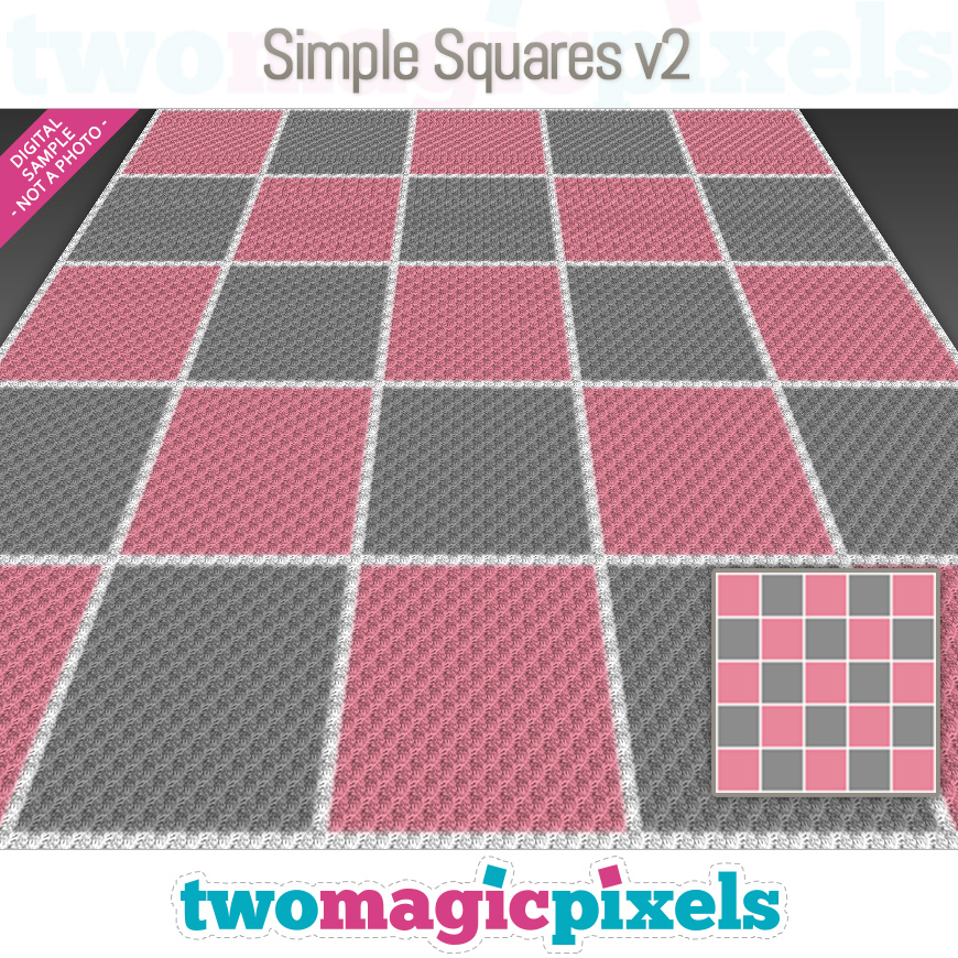 Simple Squares v2 by Two Magic Pixels
