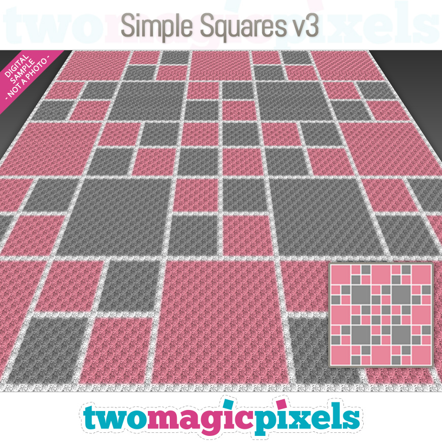 Simple Squares v3 by Two Magic Pixels
