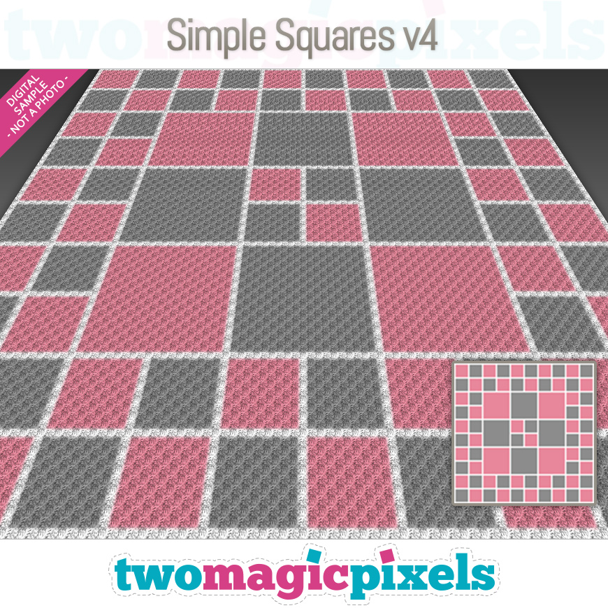 Simple Squares v4 by Two Magic Pixels