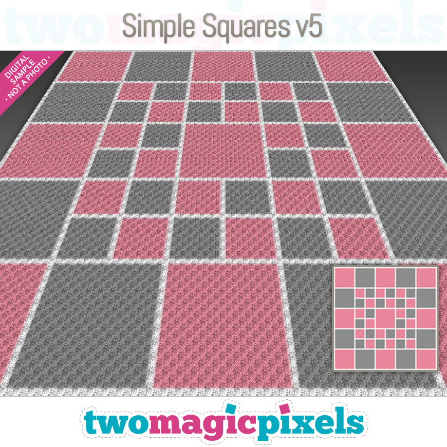 Simple Squares v5 by Two Magic Pixels