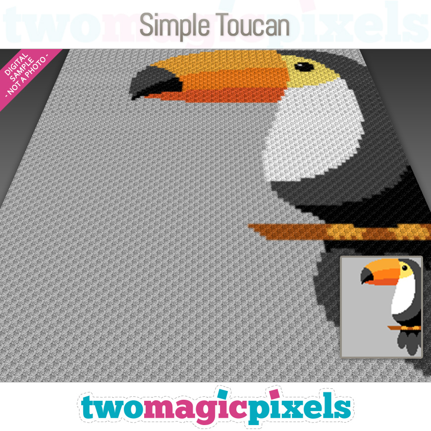 Simple Toucan by Two Magic Pixels